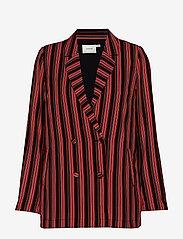 Gestuz - TillyGZ blazer AO19 - blazere - black multi stripe - 0