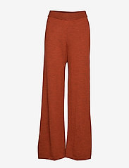 Gestuz - ThelmaGZ culotte AO19 - bukser med brede ben - rooibos tea melange - 0