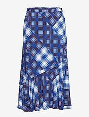 Gestuz - LuanneGZ skirt MA19 - midi - blue check - 1