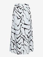 Gestuz - AylinGZ skirt MA19 - midi - blue ripple - 1