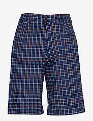 Gestuz - NiraGZ shorts MA19 - bermuda-shortsit - blue/umber check - 2