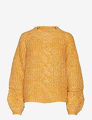 Gestuz - ZiaGZ pullover MA19 - neulepuserot - golden yellow - 0