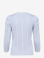Gestuz - RawanGZ pullover - neulepuserot - xenon blue - 2