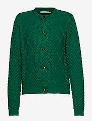 Gestuz - MichaGZ short cardigan MA19 - neuletakit - ultramarine green - 1