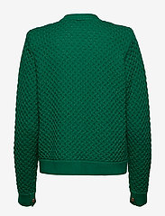 Gestuz - MichaGZ short cardigan MA19 - neuletakit - ultramarine green - 2