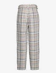Gestuz - GinnieGZ pants MA19 - suorat housut - red/yellow check - 2