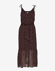 Gestuz - AlminaGZ long dress MA19 - midimekot - black multi dot - 1