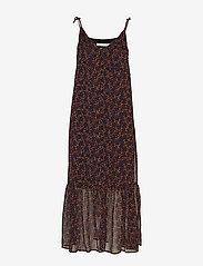 Gestuz - AlminaGZ long dress MA19 - midimekot - black multi dot - 3