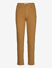 Gestuz - AstridGZ HW slim jeans NOOS - mom jeans - tapenade - 0