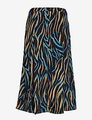 Gestuz - UzmaGZ skirt YE19 - jupes midi - blue branch - 1