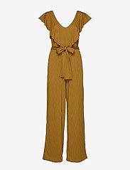 Gestuz - JustaGZ jumpsuit YE19 - combinaisons - bone brown - 1