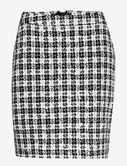 Gestuz - OpheliaGZ skirt YE19 - jupes crayon - black/white - 1