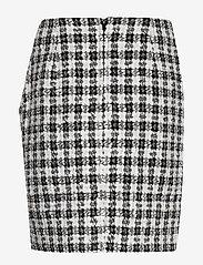 Gestuz - OpheliaGZ skirt YE19 - jupes crayon - black/white - 2