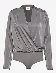 Gestuz - RosieGZ body - bodies - gray flannel - 0