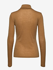 Gestuz - WilmaGZ rollneck - t-shirts basiques - bone brown - 2