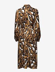 Gestuz - LoriGZ dress SO20 - midi kjoler - brown leo - 2