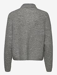 Gestuz - DebbieGZ short cardigan NOOS - cardigans - high-rise grey melange - 2