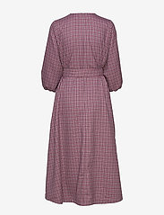 Gestuz - ZiellaGZ OZ dress SO20 - midi kjoler - purple check - 2