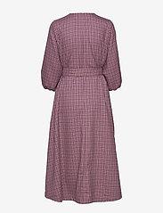 Gestuz - ZiellaGZ OZ dress SO20 - midi kjoler - purple check - 2