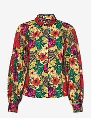Gestuz - StellaGZ shirt MS20 - langærmede bluser - tropical yellow - 1
