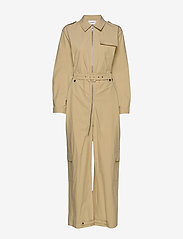 Gestuz - AdalineGZ jumpsuit MS20 - combinaisons - safari - 1