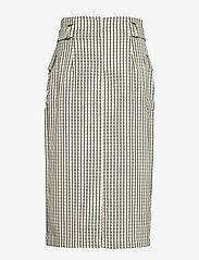 Gestuz - ElionaGZ skirt MS20 - midi - lime light check - 2