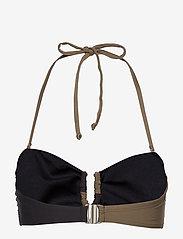 Gestuz - CetaGZ bikini top MS20 - góry strojów kąpielowych - capers - 2