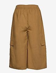 Gestuz - BaliaGZ shorts MS20 - bukser med brede ben - khaki - 1