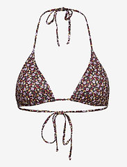 Gestuz - PilGZ bikini top - bikini overdele - small flower black beetle - 0
