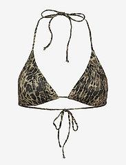 Gestuz - PilGZ bikini top - bikini overdele - yellow leo - 1