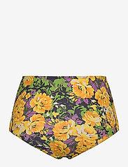 Gestuz - ArtyGZ bikini bottom - bikini underdele - yellow flower garden - 1