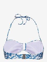 Gestuz - CanaGZ bikini top - bikini overdele - mini blue flowe aop - 1