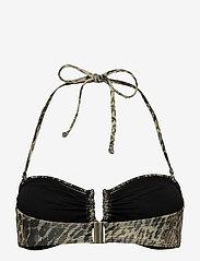 Gestuz - CanaGZ bikini top - bikini overdele - yellow leo - 2