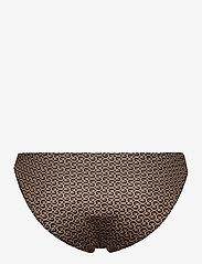 Gestuz - CanaGZ bikini bottom - bikini underdele - brown logo - 2