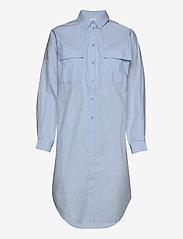 Gestuz - StaliaGZ OZ shirt dress - midi kjoler - xenon blue - 3