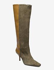 Gestuz - ShiraGZ boots AO20 - höga stövlar - dark olive - 0