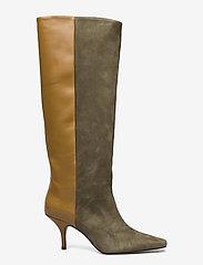 Gestuz - ShiraGZ boots AO20 - höga stövlar - dark olive - 1