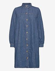 Gestuz - KayoGZ dress AO20 - shirt dresses - l.a. blue - 2