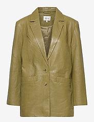 Gestuz - NaloaGZ blazer AO20 - oversized blazers - dried herb - 0