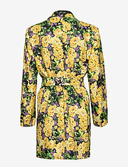 Gestuz - FleurGZ blazer AO20 - blazere - yellow flower garden - 1