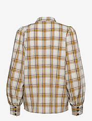Gestuz - ChloeGZ ls shirt AO20 - chemises à manches longues - yellow check - 1
