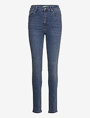 Gestuz - EmilyGZ HW skinny jeans NOOS - skinny jeans - l.a. blue - 1