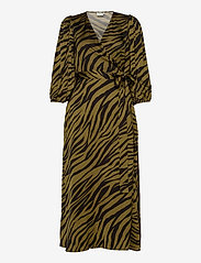 Gestuz - NadjaGZ wrap dress BZ - wrap dresses - army animal - 0