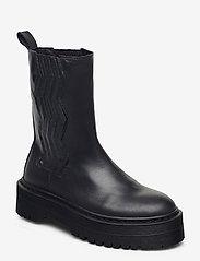 Gestuz - MarleeGZ chunky boots - bottes de pluie - dark navy - 0