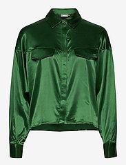 Gestuz - TikkiGZ shirt MA20 - blouses à manches longues - deep green - 0