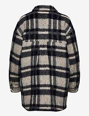 Gestuz - RinaGZ shirt MA20 - wool jackets - salt/peber check - 2