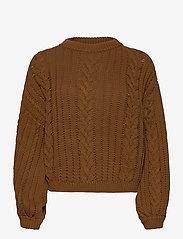 Gestuz - EloisGZ pullover MA20 - trøjer - rubber - 0