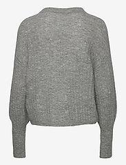 Gestuz - AlpiaGZ pullover NOOS - trøjer - high-rise grey melange - 2