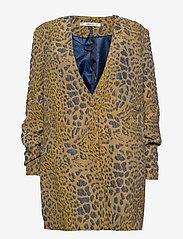 Gestuz - JackieGZ blazer ZE2 20 - blazere - gold leo jaquard - 0
