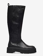 Gestuz - MarleeGZ long boots - lange laarzen - black - 2